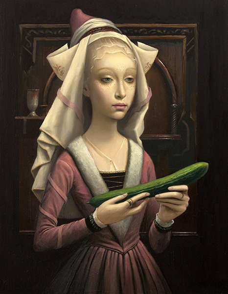Virgin and the Cucumber