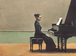 Music of silence (pianist 2)