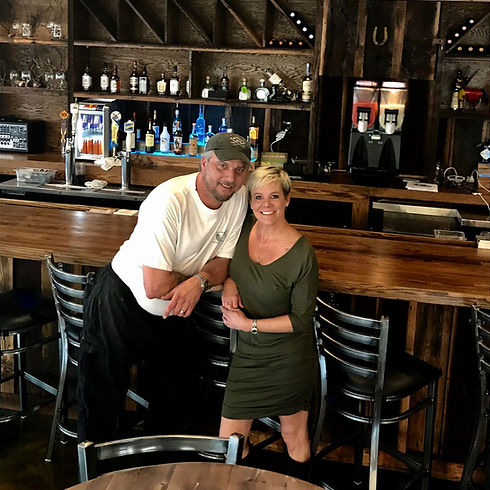 Joel & Vanessa Jerkins owners of Papa Tom's Cantina in Abingdon, VA