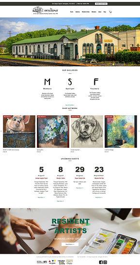 Abingdon Arts Depot Website