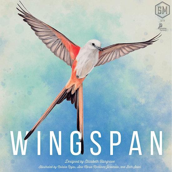 Wingspan + European birds