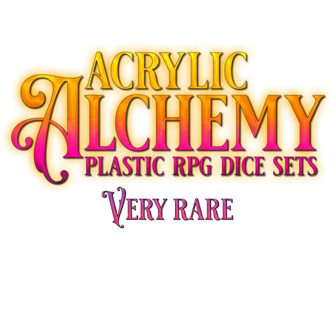 Acrylic Dice, Very Rare