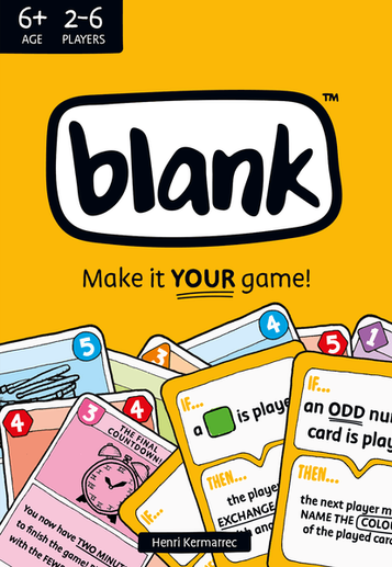 Featured Game: Blank
