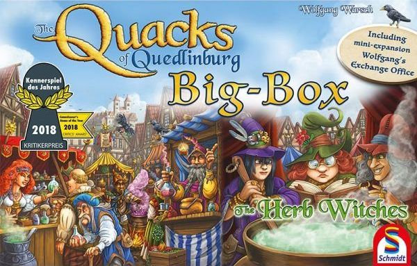 The Quacks of Quedlinburg: Big Box
