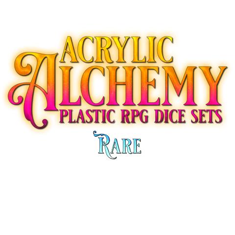 Acrylic Dice, Rare