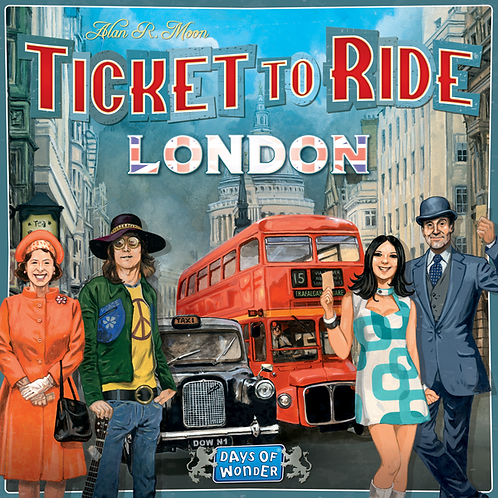 Ticket To Ride, London