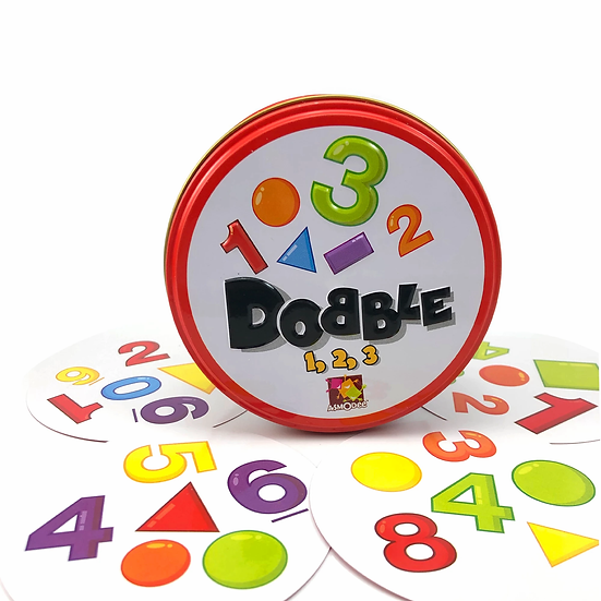 Dobble Numbers & Shapes