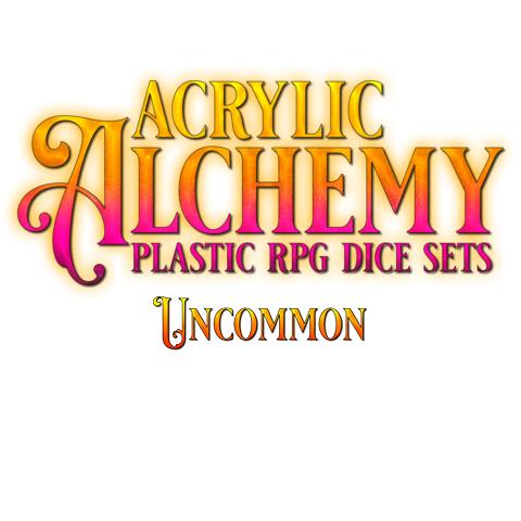 Acrylic Dice, Uncommon