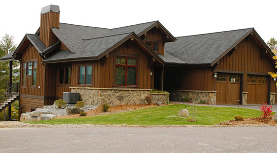 Exterior Staining in Whitefish, MT