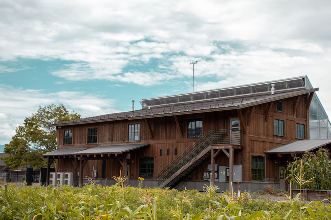 Center For Sustainability and Entreprenuership | Montana Whitefish | Exterior Rust Staining | Interior Painting | Kertusha Painting | Whitefish Montana | Painting Contractor