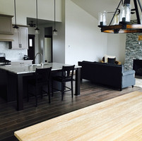 Interior painting on a contemporary house in Kalispell Montana. Kertusha Painting