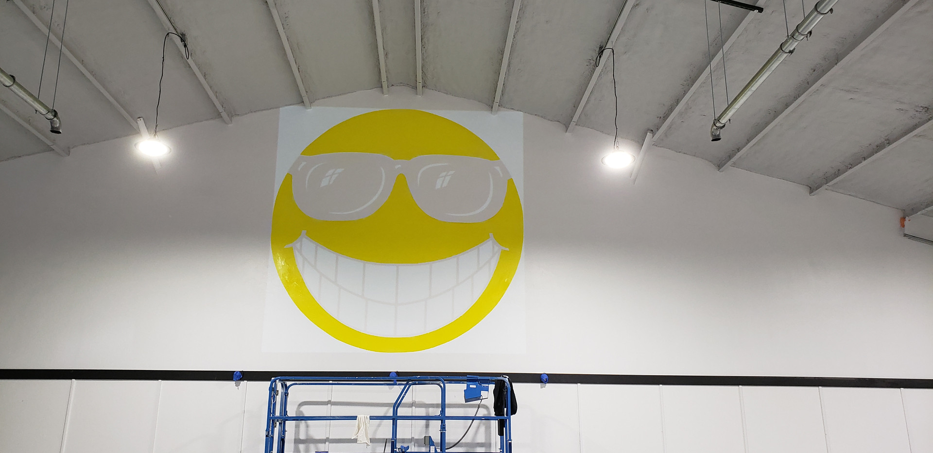 Smiley Face - Before