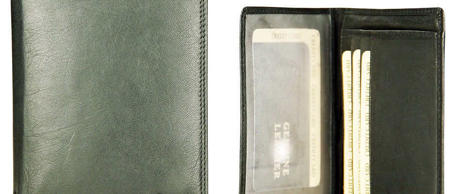 Leather Note-case wallet for Men