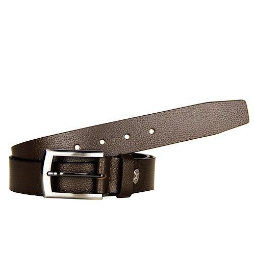 Brown Leather Formal Belt for Men - Pack of 12 Pcs