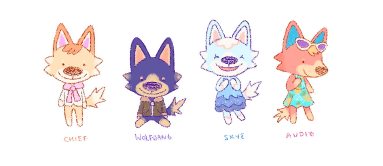 Wolf villagers