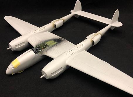 タミヤP-38ライトニング その2