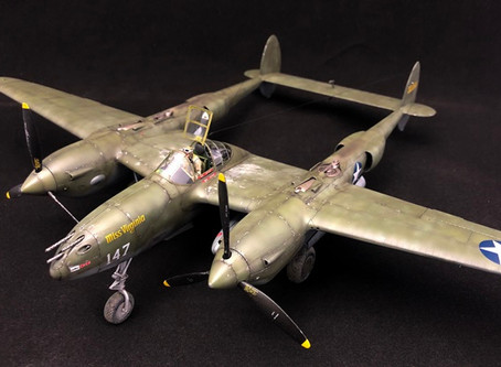 タミヤ P-38ライトニング