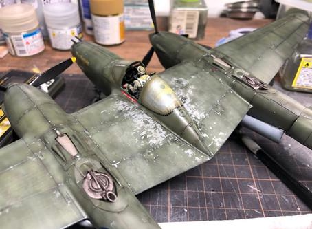 今日でP-38は・・・