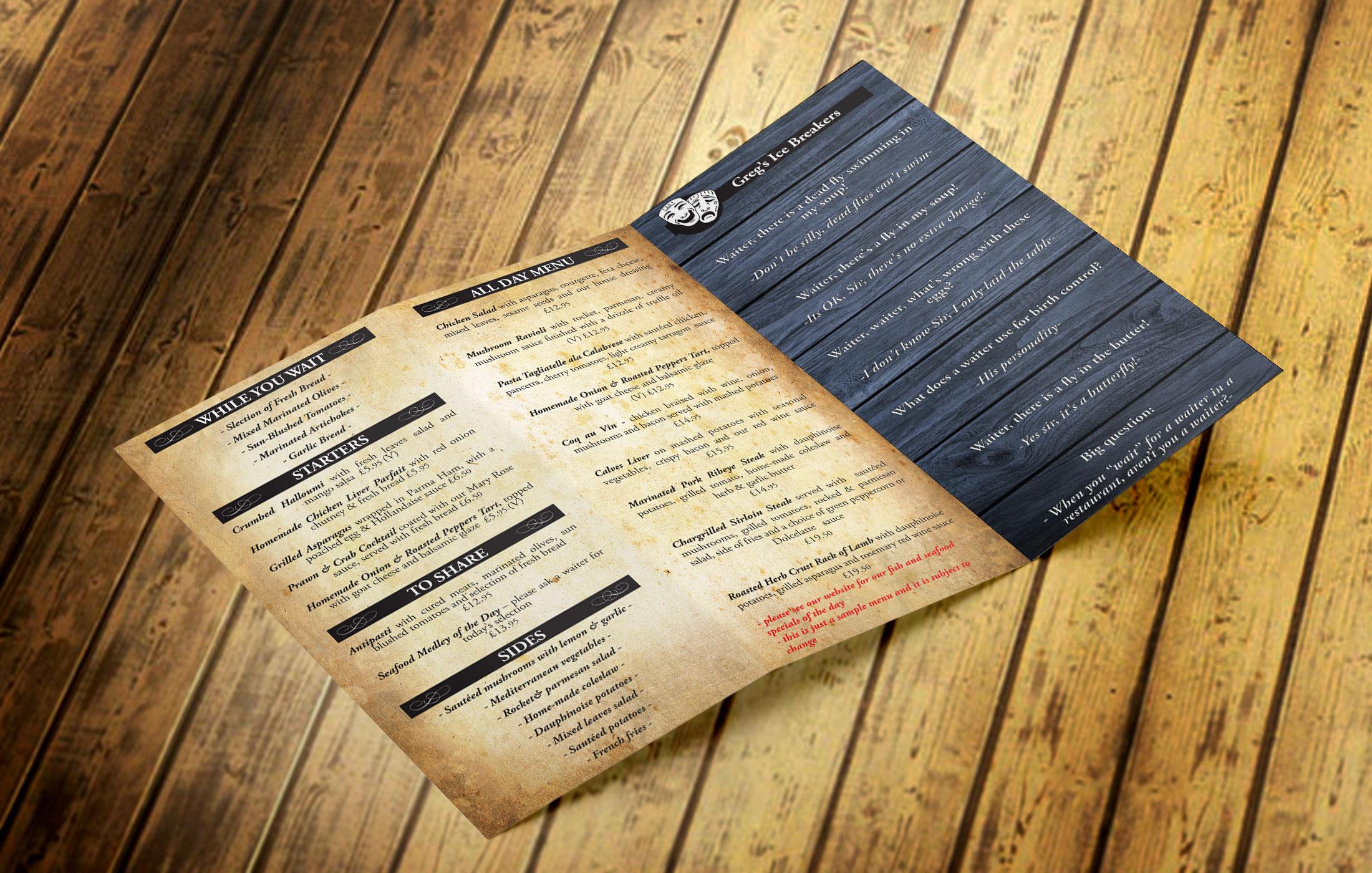 Z Fold Flyer - Inside