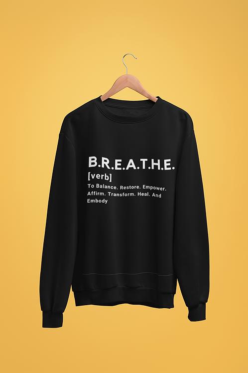 BREATHE Defined Crewneck