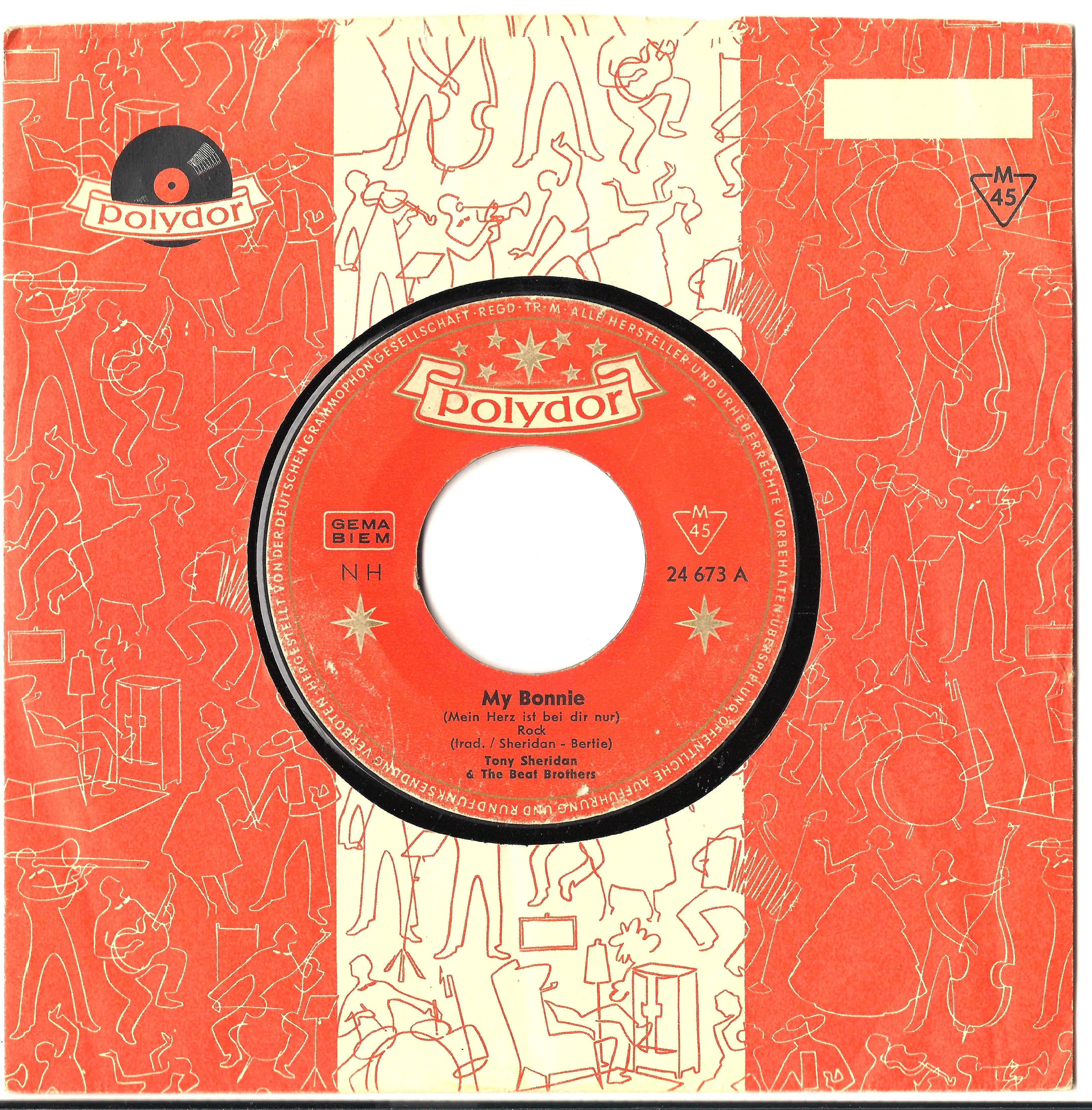 My Bonnie single on Polydor Oct. 1961 (1st version with slow German intro).jpg