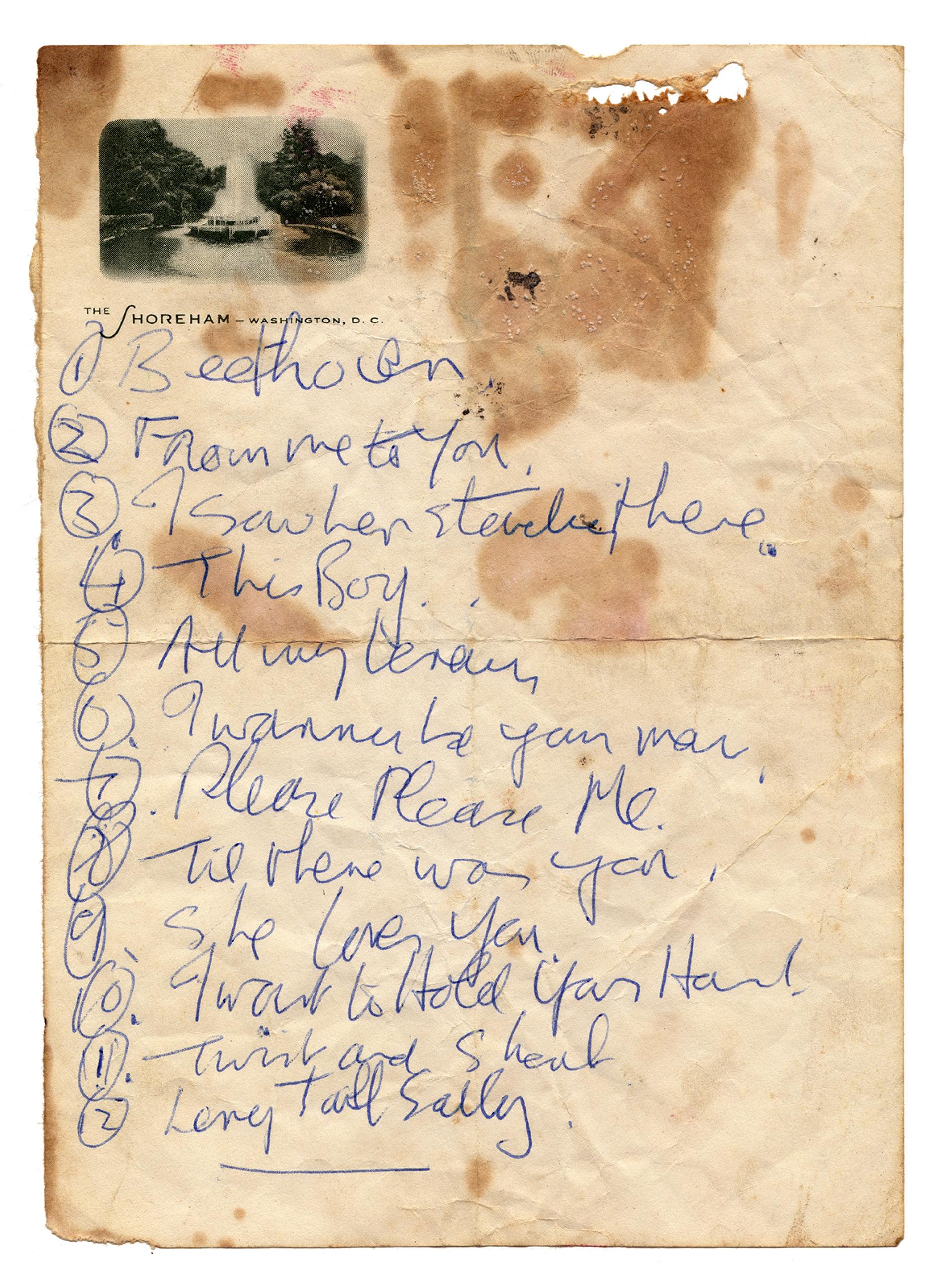 The coloring book tour setlist - Set List 72dpiemail Jpg