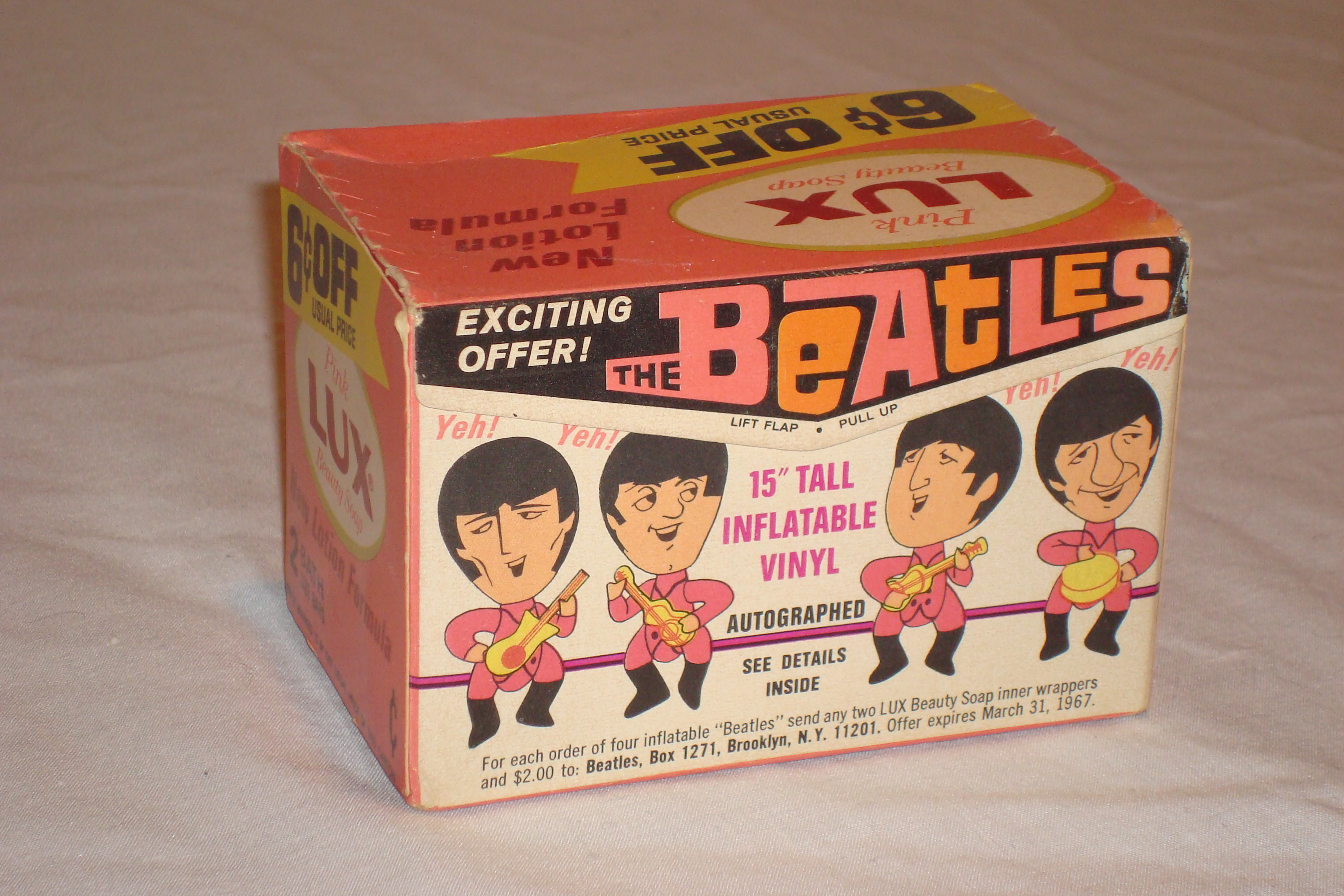 Beatles Lux soap box with blow-up dolls offer 1966-67.JPG