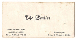 Allan Williams Beatles business card 1960.jpg