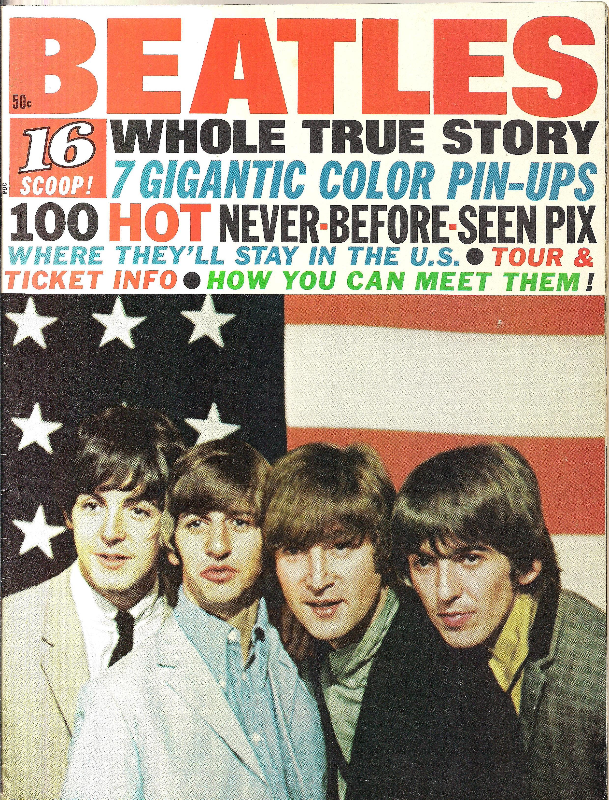 Magazine - Whole True Story 16 1966