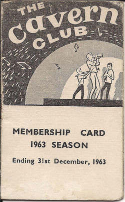 Cavern card 1963