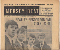 Mersey Beat Beatles Sign With EMI Vol. 2 No. 31 Sept. 20-Oct. 4, 1962 top