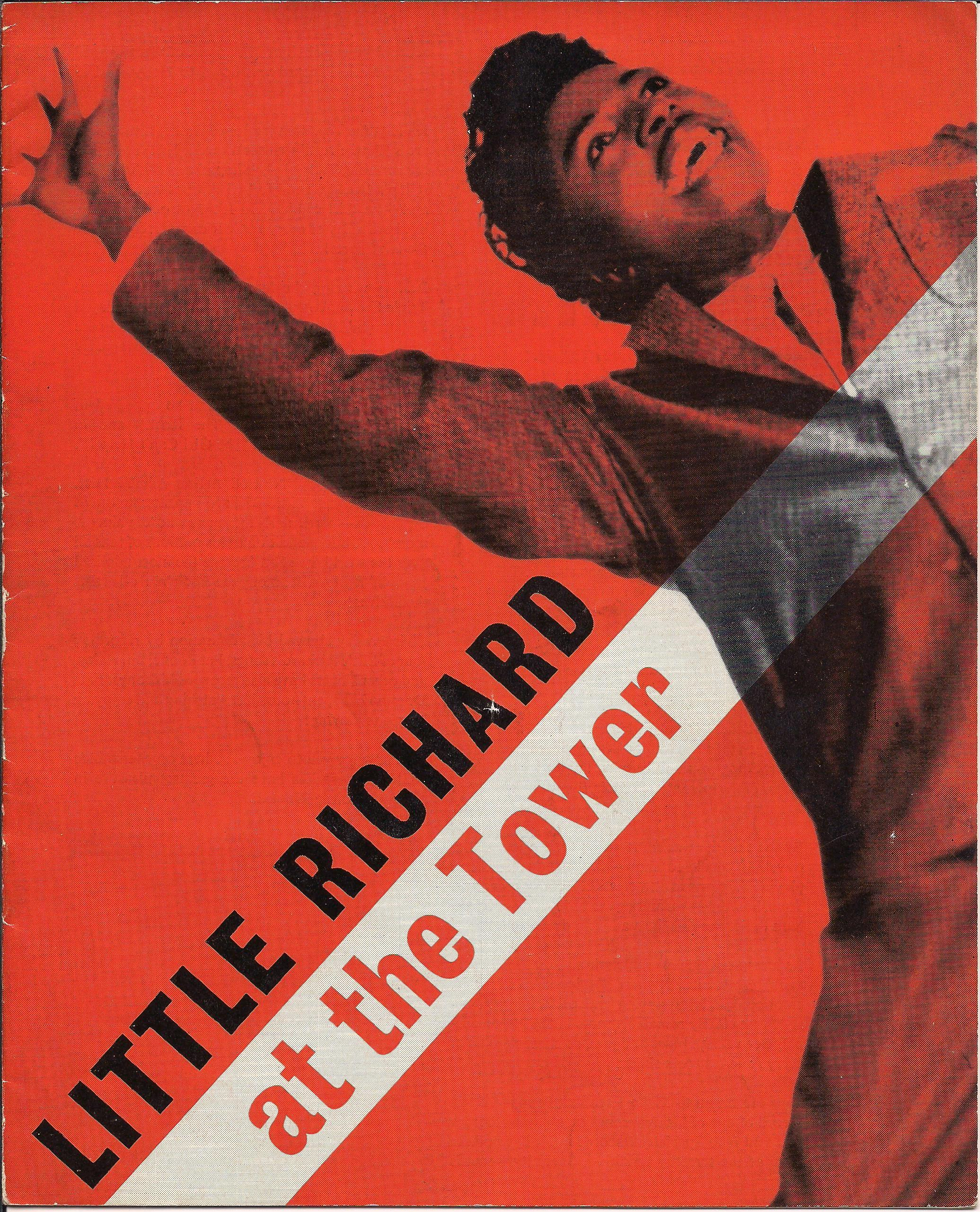 Beatles-Little Richard Tower Ballroom program Oct. 1962