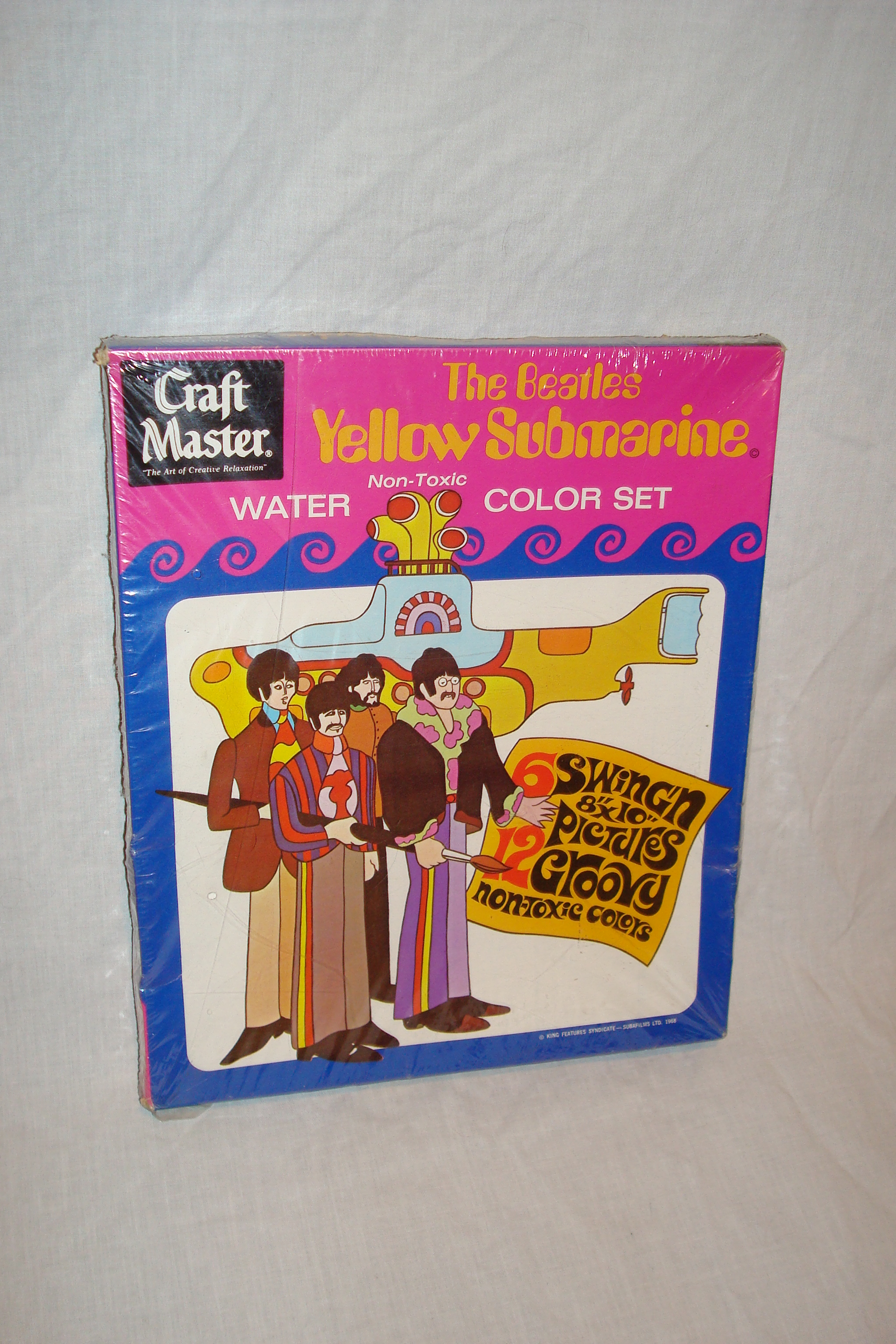 Yellow Submarine watercolor set 1968.JPG