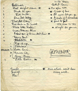 Beatles Grosvenor set list 1960.jpg