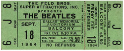North American tickets - Dallas '64 concert.JPG