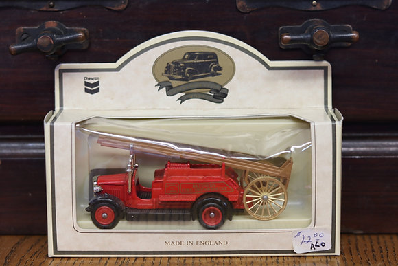 Chevron Vintage Model Fire Truck