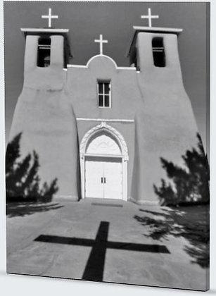 Taos Shadows Photograph