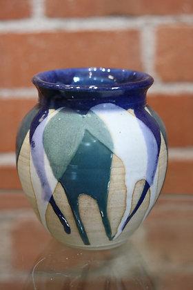 Small Multi-Colored Vase
