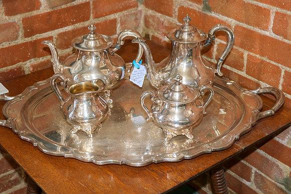 Gorgeous Tea Set with Tray