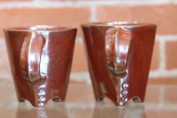 Stunning Pottery Coffee Mugs