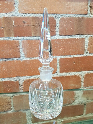 Tipperary Irish Crystal Perfume Bottle