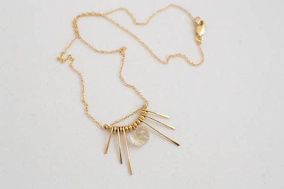 Illumine Quartz Necklace