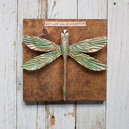 """Copper Dragonfly - """"You Were Meant to Fly"""""""