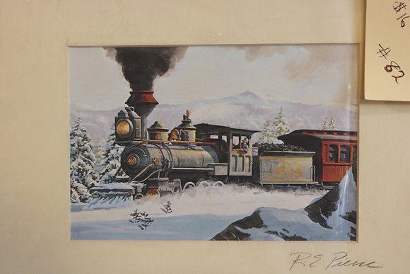 R.E. Pierce Railroad Prints