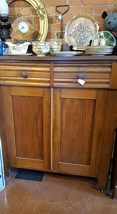 1800s Walnut Jelly Cabinet