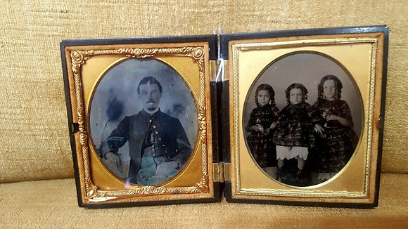 Highland Chief Case with Tintype Photo