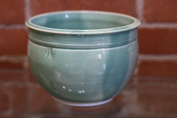 Large Decorative Green Bowl