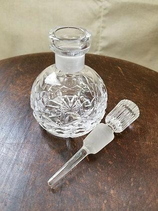 Elegant Waterford Crystal Perfume Bottle