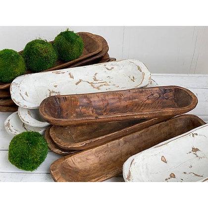 Small Bread Bowl - Natural Wood