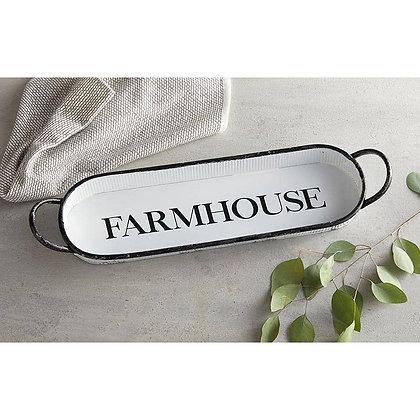 Farmhouse Oval Tray